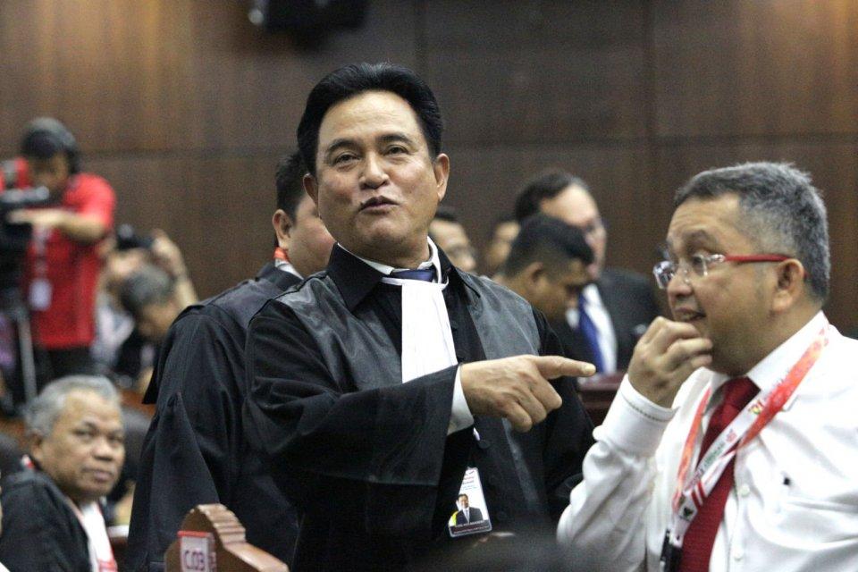 sidang gugatan Pilpres 2019 di MK, TKN, Jokowi, pemilu 2019