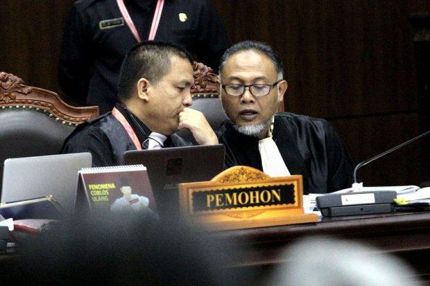 BPN Prabowo-Sandiaga, Jokowi-Ma'ruf, sidang sengketa PIlpres 2019, MK