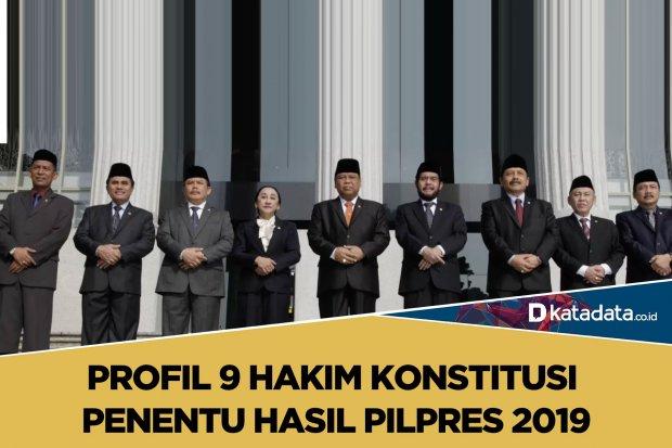Profil 9 Hakim Konstitusi