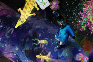 Pameran seni interaktif teamLab Future Park