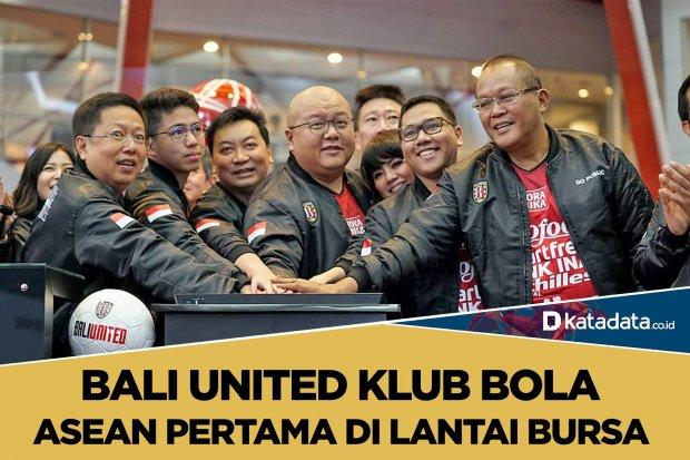 Bali United di Lantai Bursa