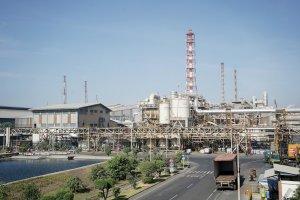 Smelter tembaga di Gresik milik PT Smelting