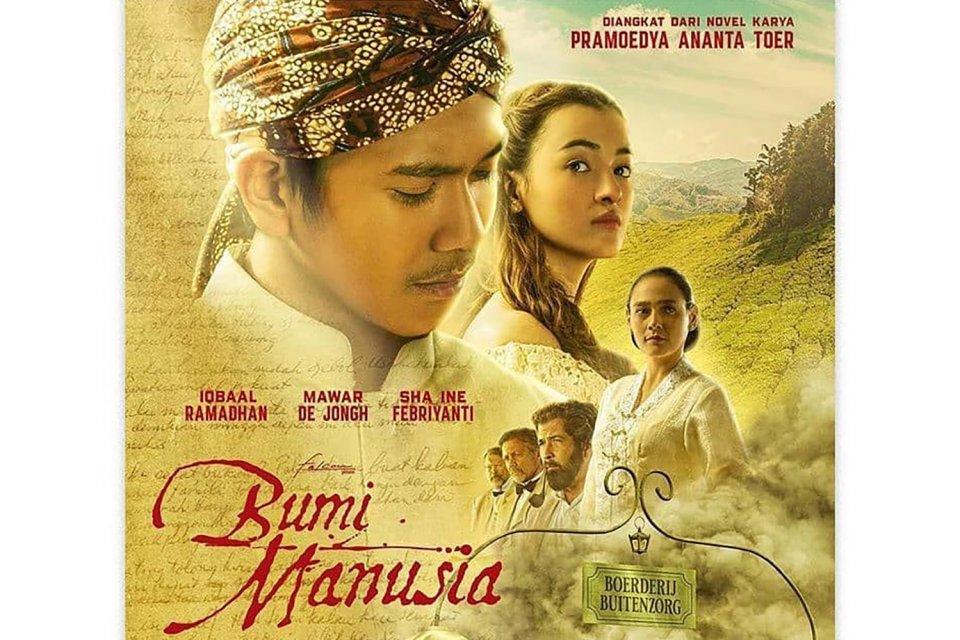 FIlm Bumi Manusia Iqbaal Ramadhan dan Film Perburuan Adipati Dolken dari adaptasi novel pramoedya ananta toer