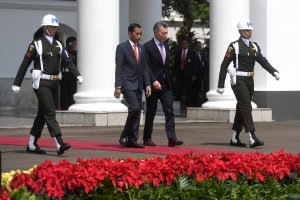 Presiden Joko Widodo Menerima Presiden Argentina
