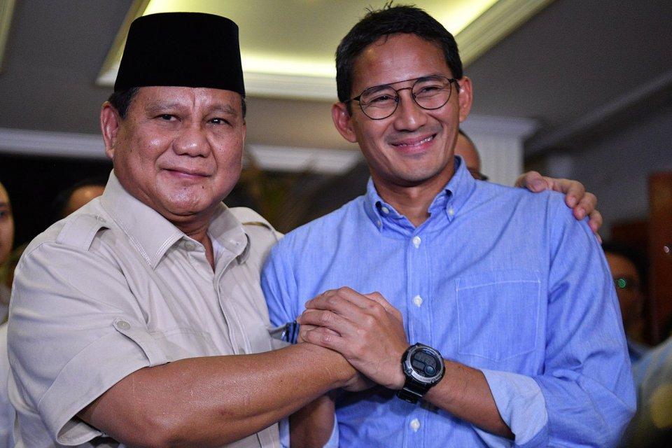 Sandiaga Uno, Gerindra, Prabowo.