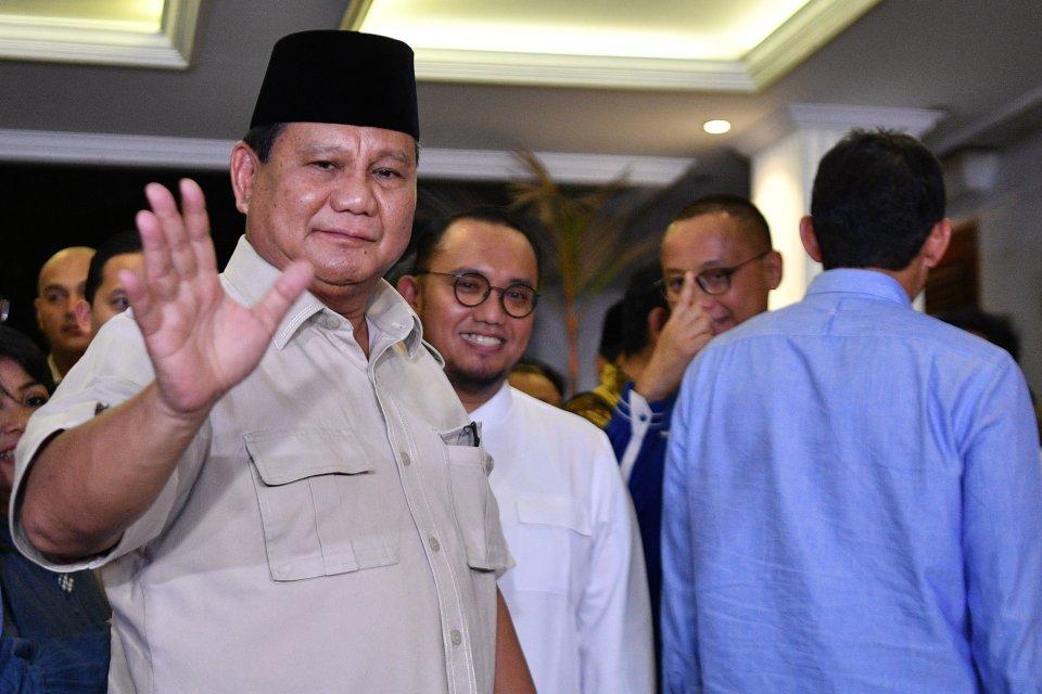 Prabowo, Gerindra, Sidang Tahunan MPR.