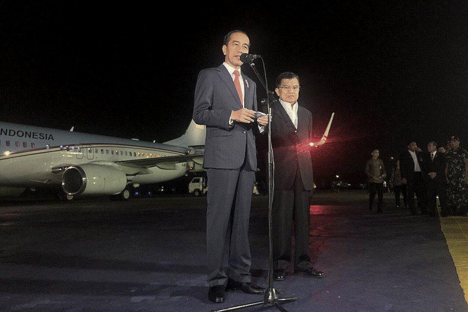 presiden joko widodo, jokowi, ktt g20 2019 jepang, kunjungan kerja presiden