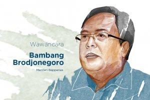Menteri Perencanaan Pembangunan Nasional/Kepala Bappenas Bambang Brodjonegoro