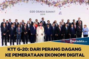 KTT G20, perang dagang ke pemerataan ekonomi digital