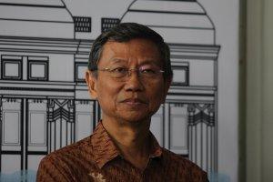 Pendiri dan Komisaris Utama PT Jababeka Tbk Setyono Djuandi Darmono