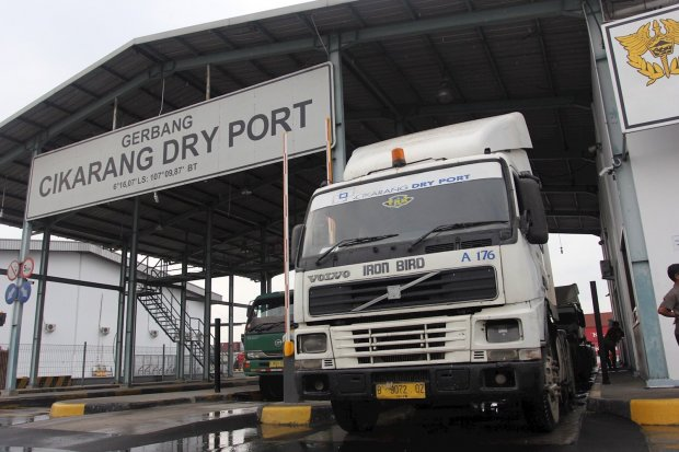 Cikarang Dry Port yang dikelola oleh PT Kawasan Industri Jababeka Tbk di Jl. Raya Cikarang Utara, Bekasi, Jawa Barat. OJK menyatakan bahwa mereka tidak memiliki kewenangan untuk mengatur dualisme kepengurusan yang saat ini terjadi di Jababeka.