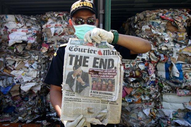 impor sampah, batas toleransi impor sampah, jokowi impor sampah