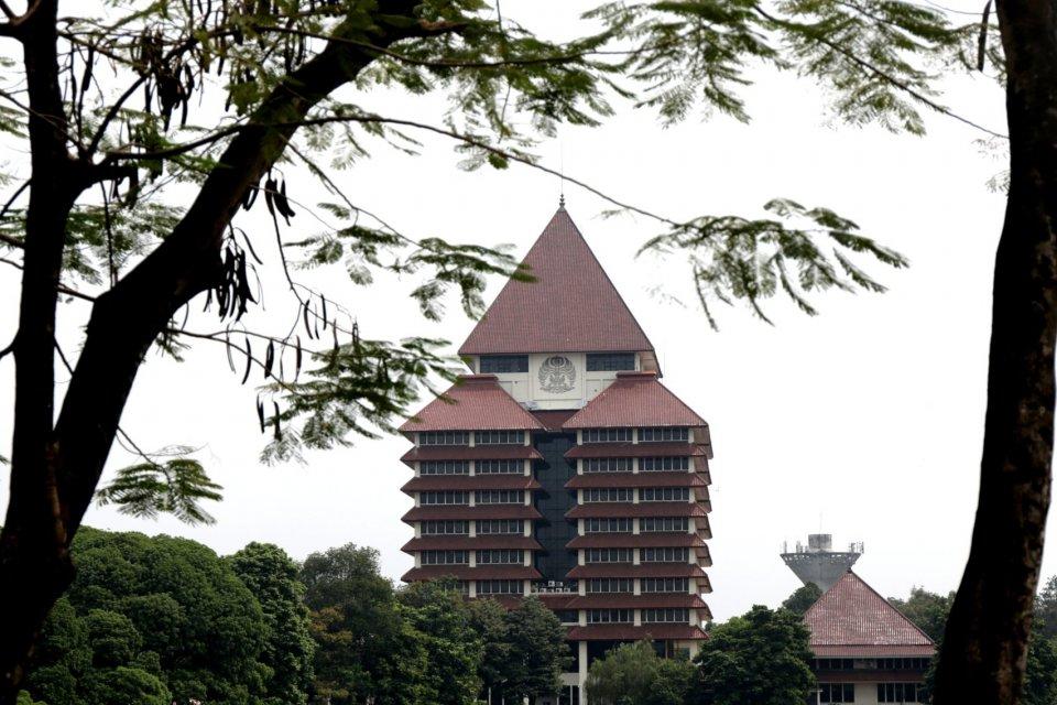 Gedung di Universitas Indonesia.