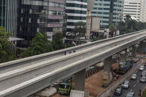 Perkembangan Pembangunan LRT