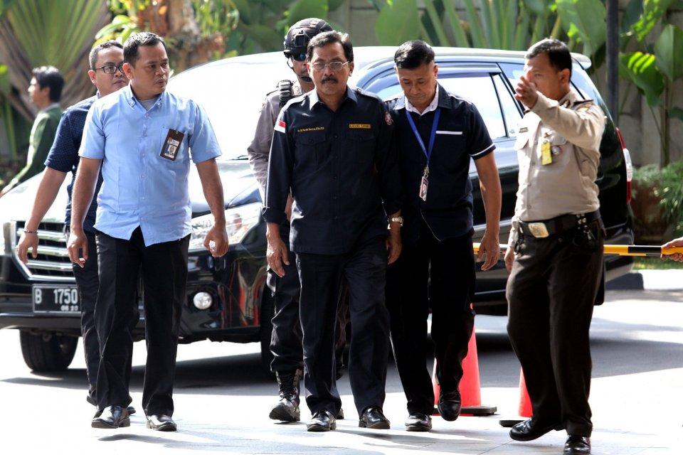 Gubernur Kepri Nurdin Basirun dipecat NasDem, OTT KPK