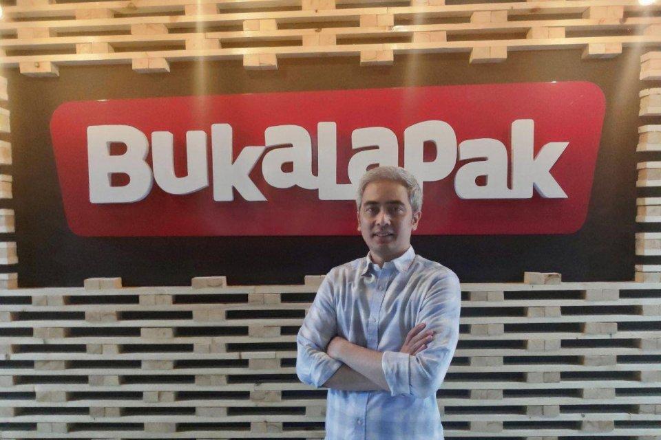 Bukalapak menunjuk Bagus Harimawan sebagai Chief of Talent.