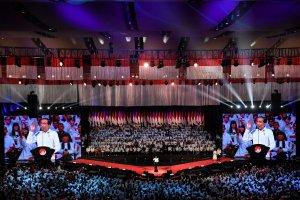 Jokowi Sampaikan Pidato Visi Indonesia