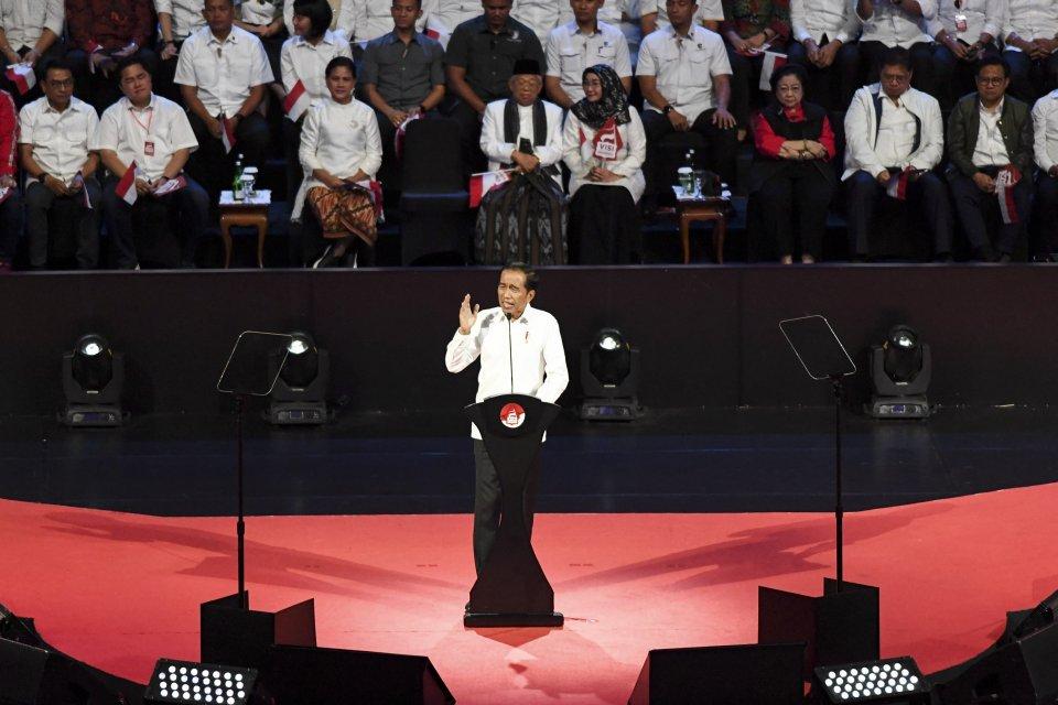 Jokowi tak terbitkan Perppu KPK