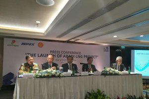 Press Conference Peluncuran Lapangan Abadi Blok Masela