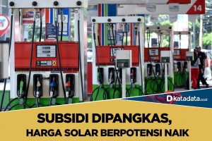 harga solar berpotensi naik