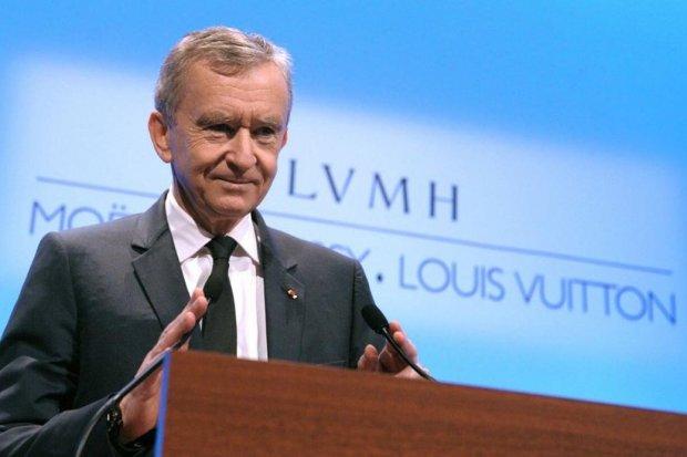 Daftar orang terkaya dunia, Pemilik Louis Vuitton Bernard Arnault orang terkaya kedua dunia, menggeser Bill Gates