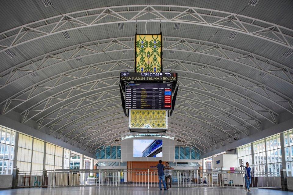 Bandara Lombok, salah satu infrastruktur pendukung sektor pariwisata di Nusa Tenggara Barat