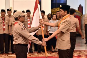 Jokowi dan Pramuka Indonesia