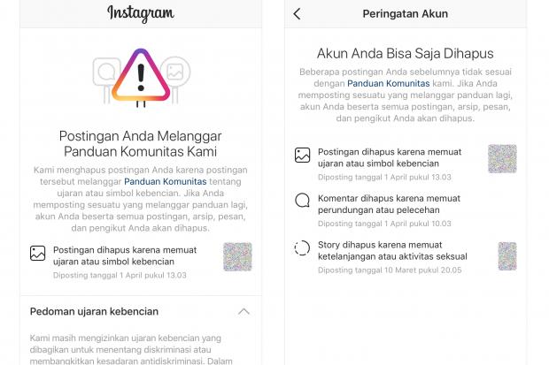 Instagram Bakal Hapus Akun Yang Berulangkali Melanggar Kebijakan Teknologi Katadata Co Id