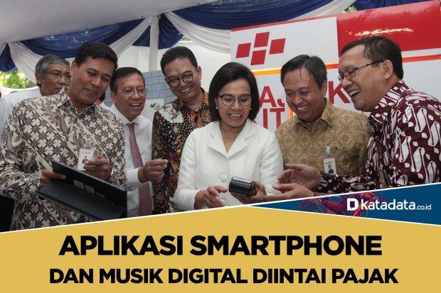 Pajak aplikasi dan musik digital