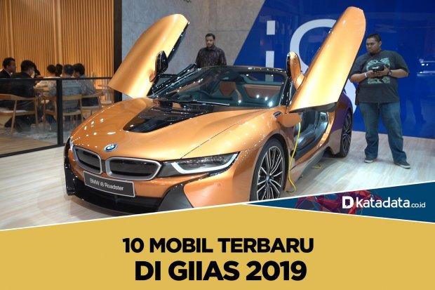 10 mobil terbaru di GIIAS 2019