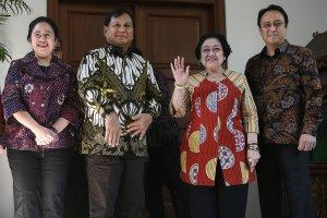 Megawati dan Prabowo bertemu