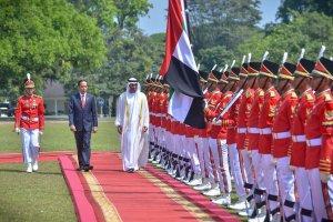Jokowi dan Putra Mahkota Abu Dhabi