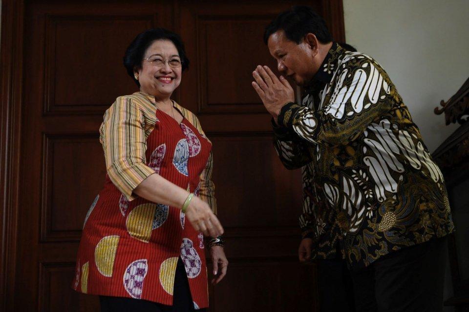 Prabowo Subianto, Gerindra, PDIP.