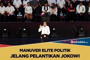 Manuver elite politik jelang pelantikan jokowi