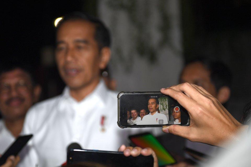 Jokowi partai gerindra