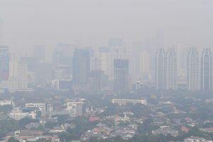 Polusi Udara Jakarta Terburuk di Dunia