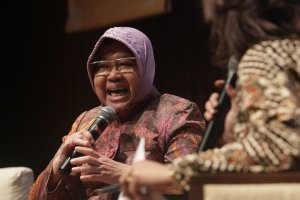 Risma walikota Surabaya