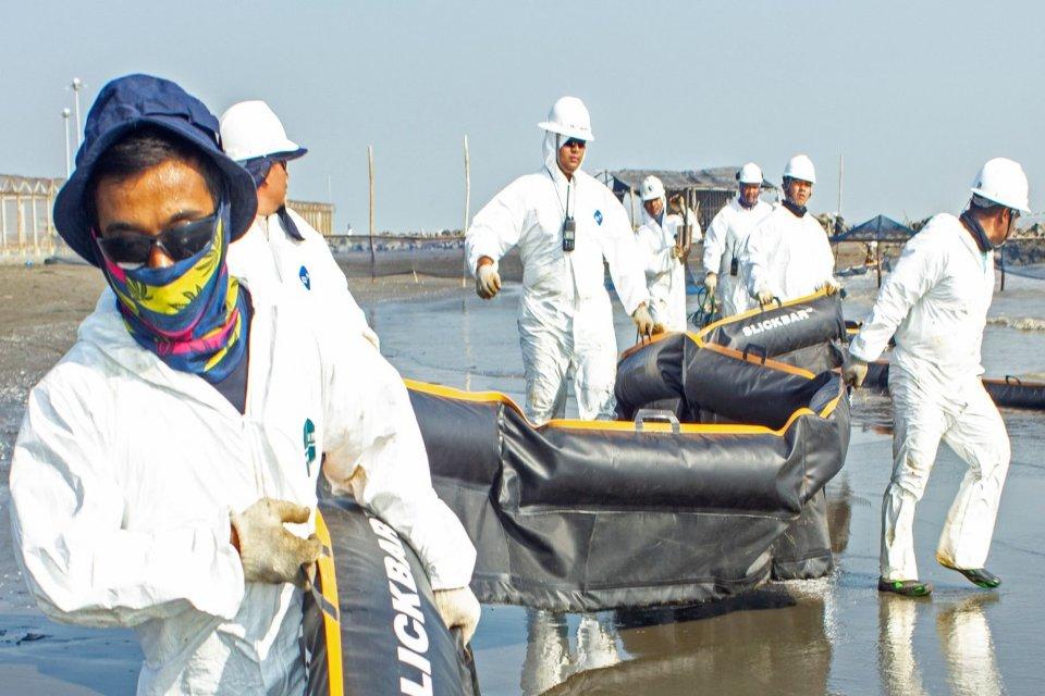 Blok ONWJ, pertamina, tumpahan minyak pertamina, tumpahan minyak blok ONWJ
