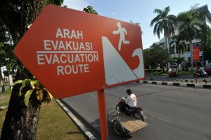 Rambu Evakuasi Bencana Tsunami