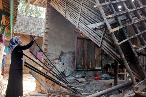 gempa banten, gempa hari ini