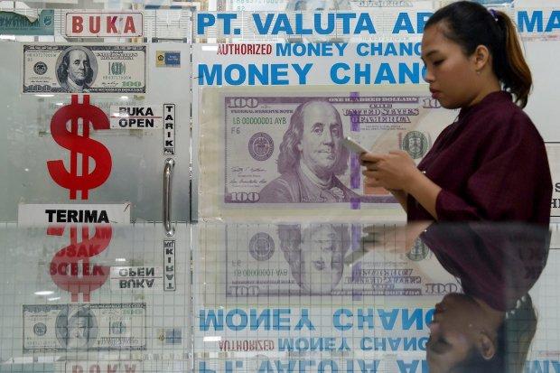 rupiah, dolar, nilai tukar, evergrande