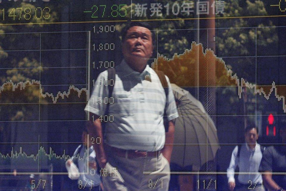 bursa saham asia, virus corona, indeks saham turun,