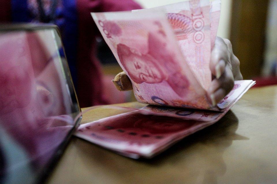 yuan, utang luar negeri, tiongkok