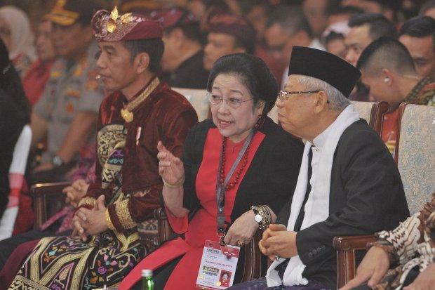 Jokowi, PDIP, menteri