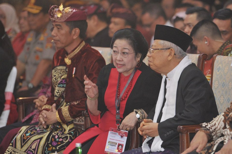 Megawati, ketua umum PDIP