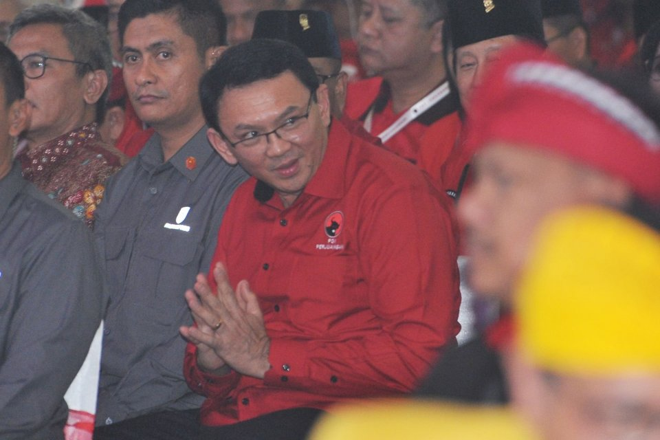Megawati, Ahok, PDIP