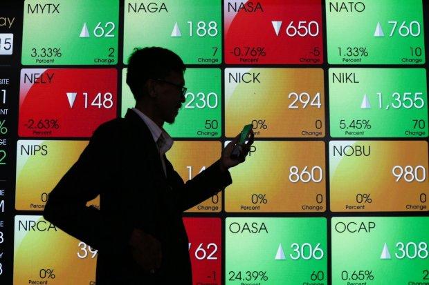 ihsg, saham, bursa, bursa efek indonesia, harga emas, harga minyak, harga batu bara, wall street