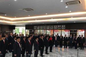 Suasana Pelantikan Pejabat Kementerian ESDM