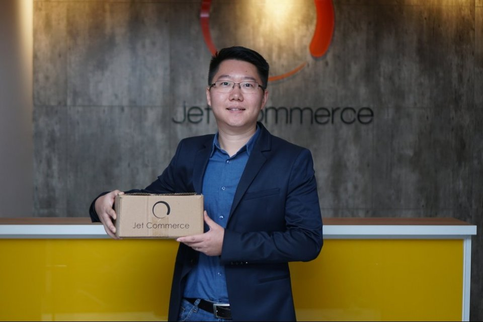 CEO Jet Commerce Oliver Yang. Jet Commerce ekspansi ke Tiongkok dan Filipina