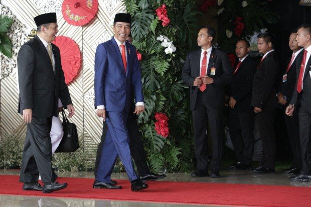 Jokowi sidang tahunan mpr